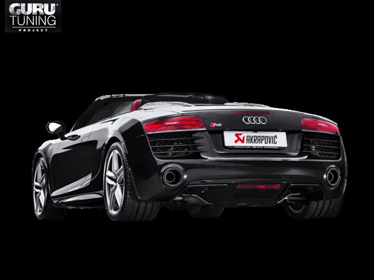 Выхлопная система Akrapovic для Audi R8 5.2 FSI Coup?/Spyder 2015