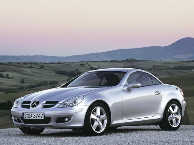 Чип тюнинг Mercedes SLK