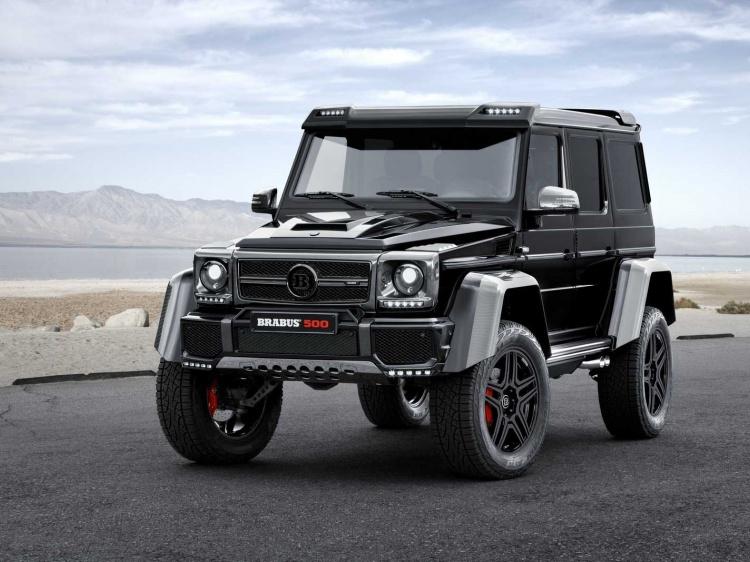 Тюнинг Mercedes G500 4x4*2 от Brabus