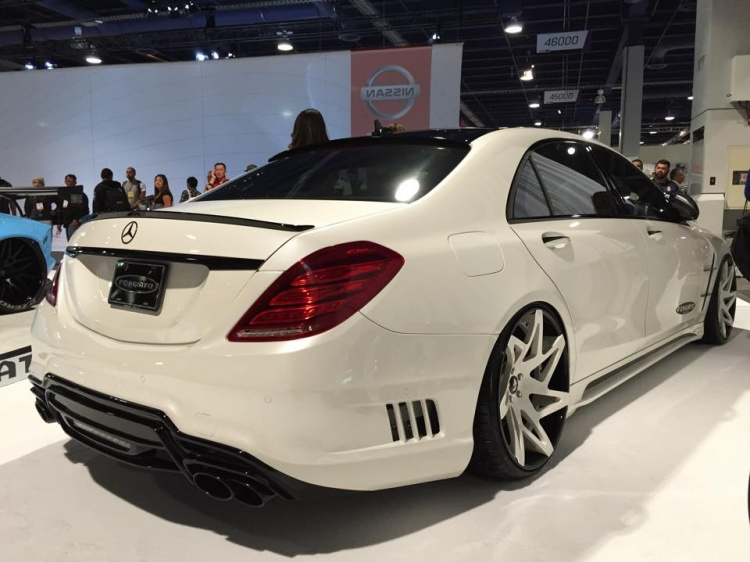 Mercedes W222 S-Class Forgiato Booth