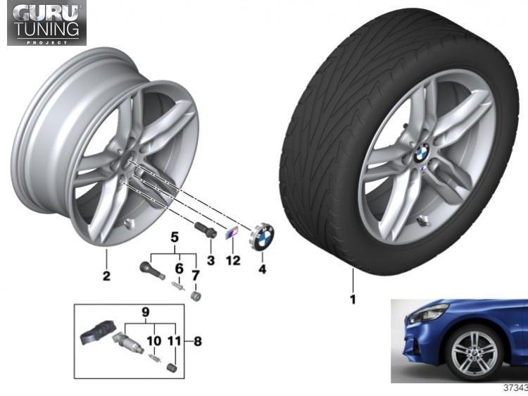 Диски BMW дизайн 483M для BMW 2-series Active Tourer F45
