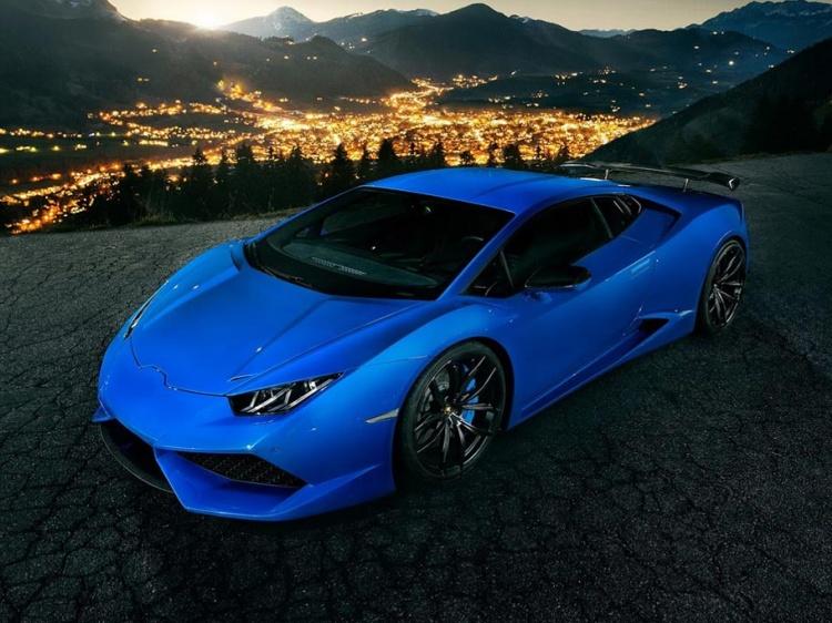 Тюнинг N-Largo для Lamborghini Huracan от Novitec Torado