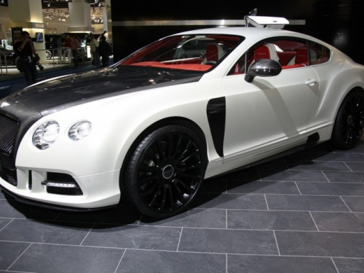 Диски от Mansory для Beantly Continental GT 2012