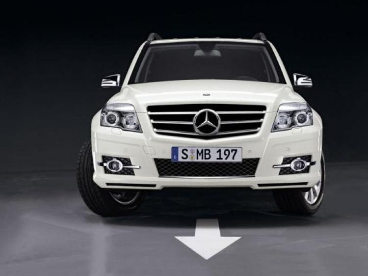 Спорт пакет для Mercedes GLK-Class (X204)