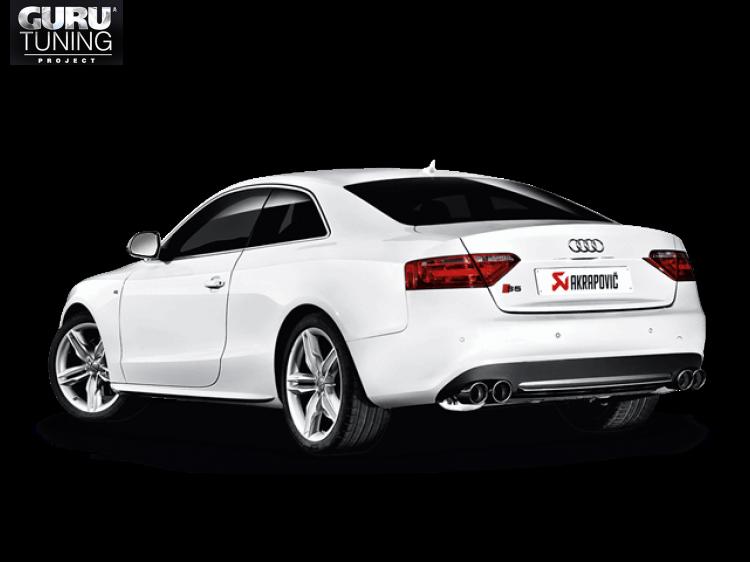Выхлопная система Akrapovic для Audi S5 Coupe (8T)