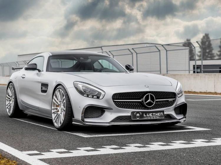 Mercedes-AMG GT с тюнингом от Luethen Motorsport