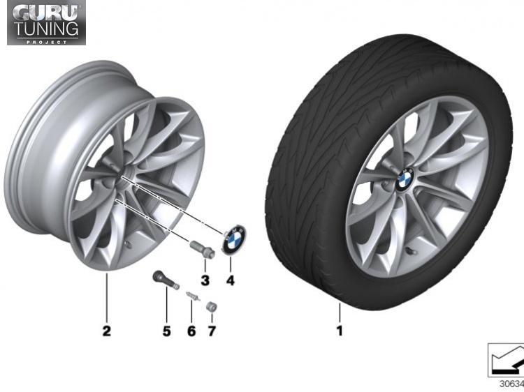 Диски BMW дизайн 514 для BMW Z4 E89