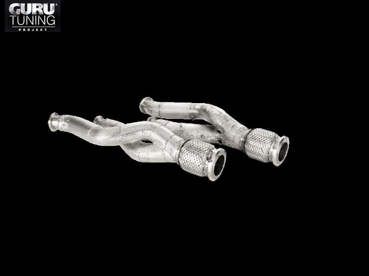 Выхлопная система Akrapovic для Lamborghini Aventador LP 700-4 Coupe/Roadster 2016