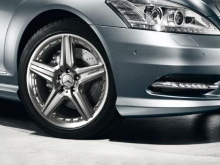 Диски и шины на Mercedes-Benz S-class