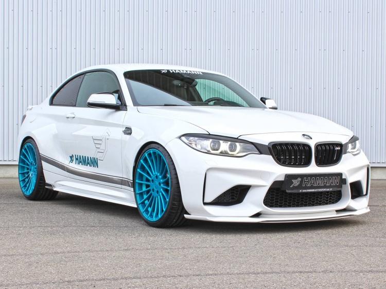 Hamann с работой по тюнингу BMW M2