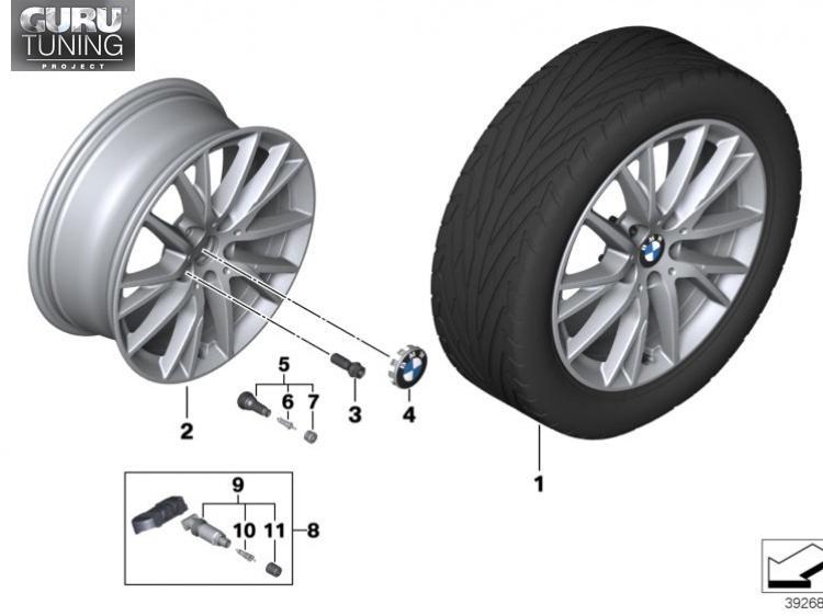 Диски BMW дизайн 489 для BMW 2-series Active Tourer F45