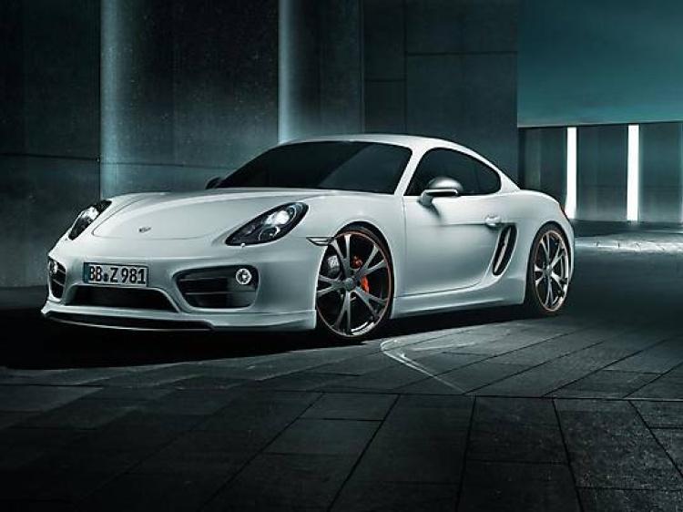 Тюнинг проект нового Порше Кайман – Porsche Cayman TechArt