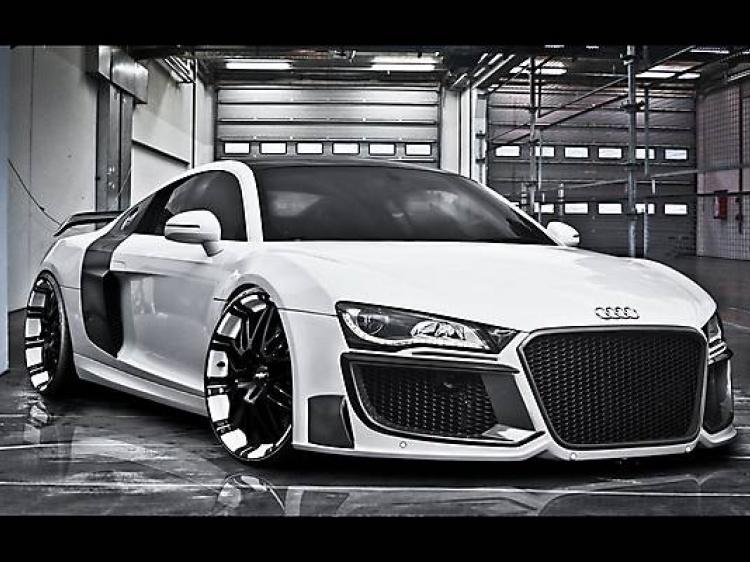 Ателье Regula Tuning – проект Audi R8
