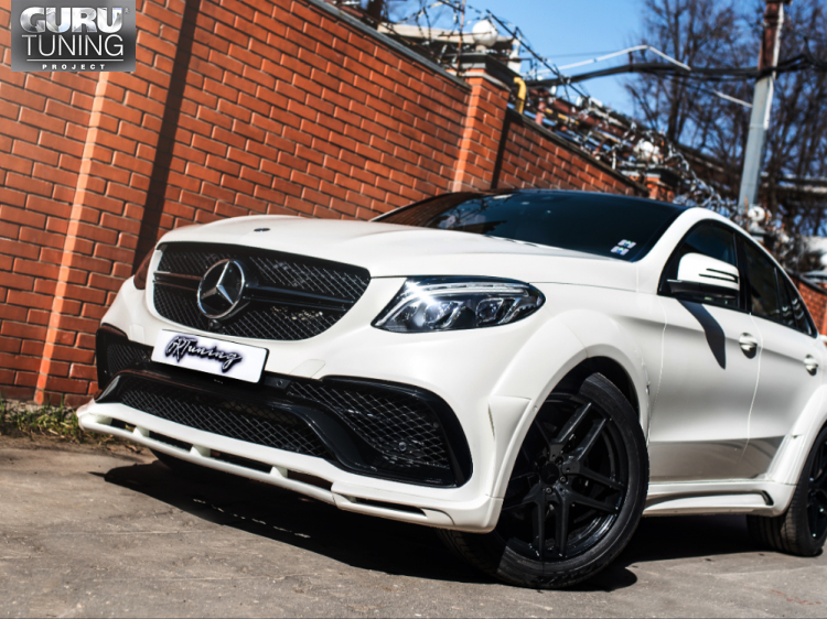 MERCEDES GLE COUPE HAMANN WIDE BODY