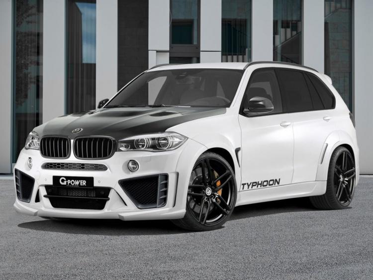 Кроссовер BMW X5 M с модернизациями от G-Power