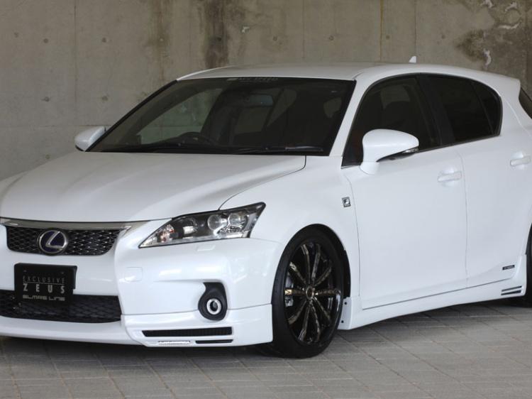 M'z SPEED EXCLUSIVE ZEUS для Lexus CT200h