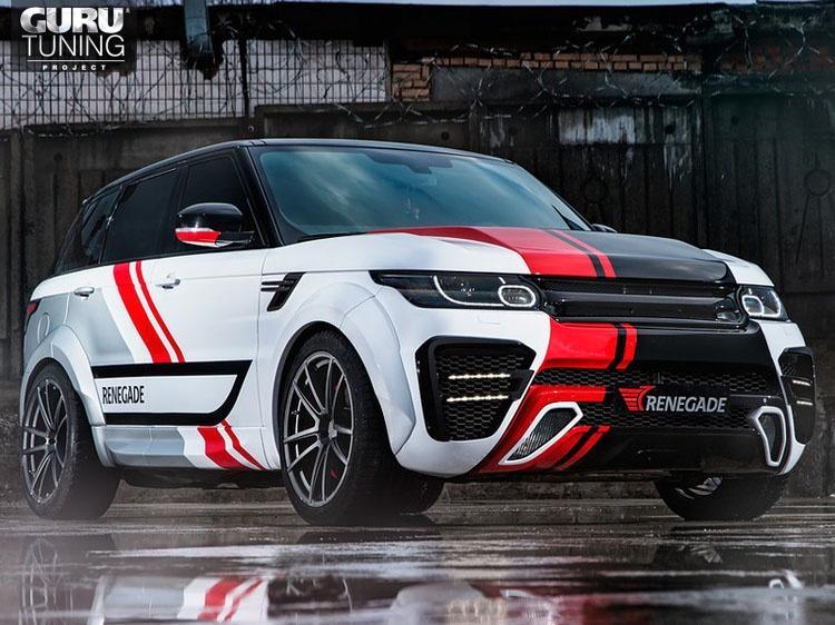 Обвес Renegade WideBody для Range Rover Sport