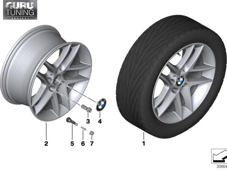 Диски BMW дизайн 496 для BMW 1-series (E81/87)