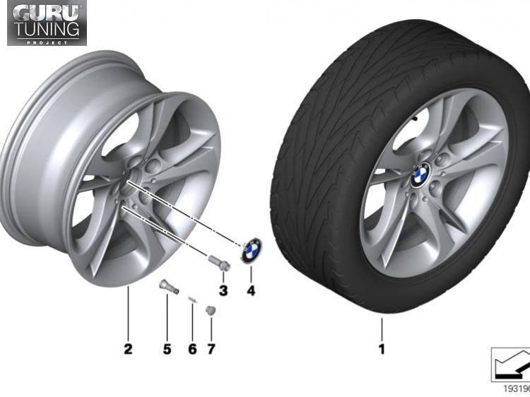 Диски BMW дизайн 292 для BMW Z4 E89
