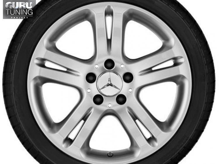 Диски для Mercedes S class W221 с 5 двойными спицами