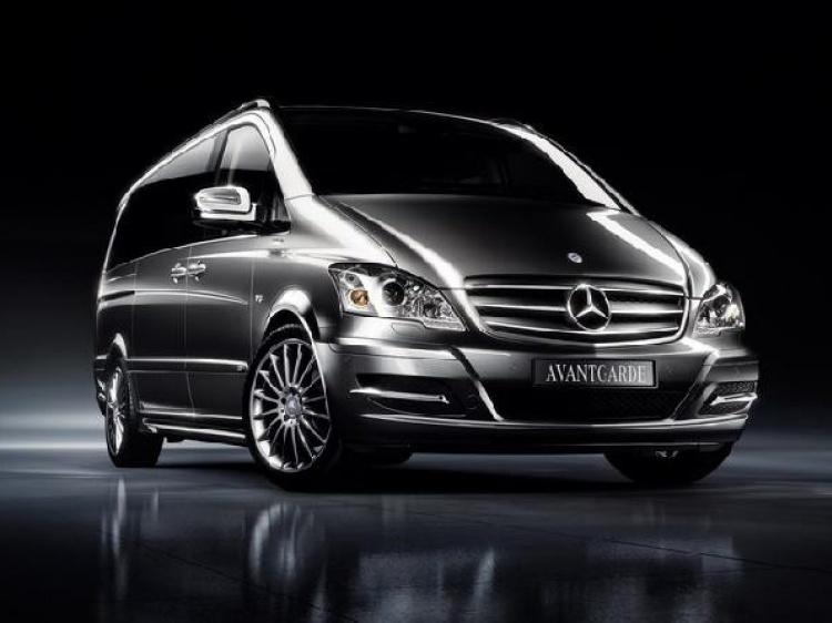 Рестайлинг для Mercedes Viano Edition 125 (W639)