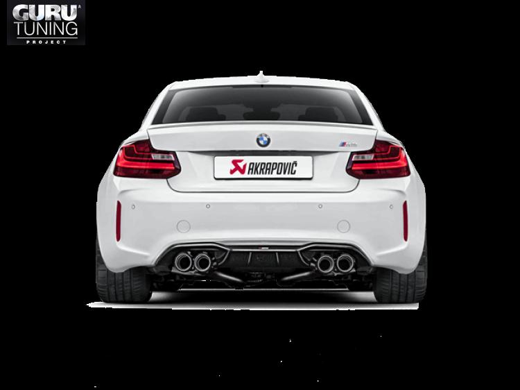 Выхлопная система Akrapovic для BMW M2 (F87) 2016
