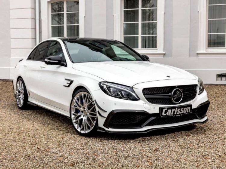 В Carlsson сделали тюнинг Mercedes-AMG C63 S