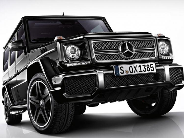Рестайлинг G63 AMG для Mercedes W463 (реплика)