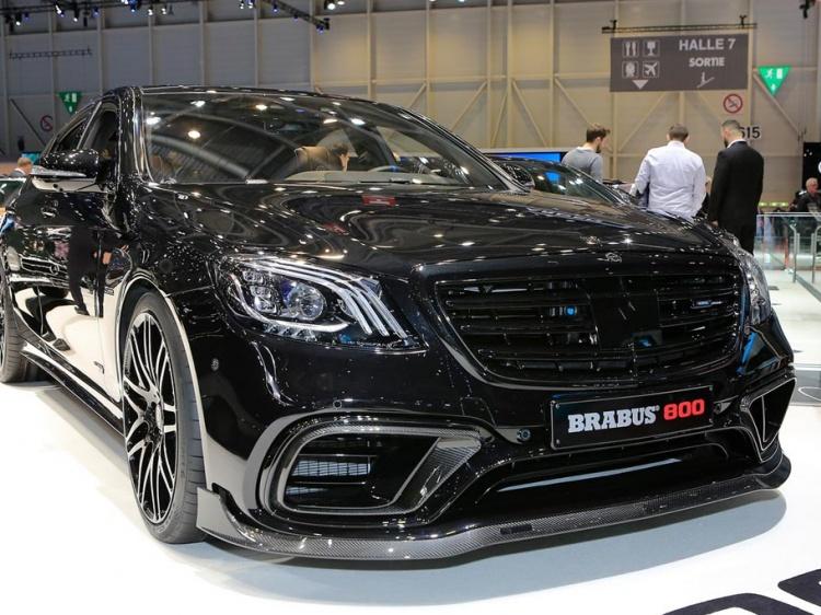 Седан и купе Brabus 800 на базе автомобиля Mercedes-AMG S 63