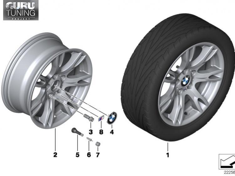 Диски BMW дизайн 354 для BMW X1 (E84)