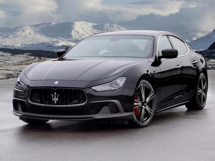 Mansory и их тюнинг Maserati Ghibli