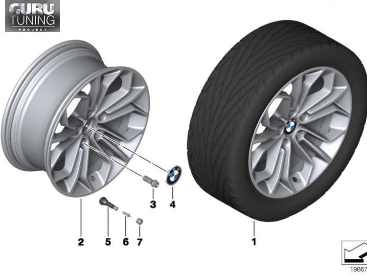 Диски BMW дизайн 323 для BMW X1 E84