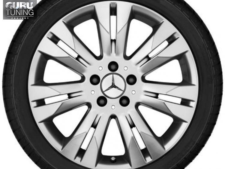 Диски для Mercedes S class W221 с 7 двойными спицами