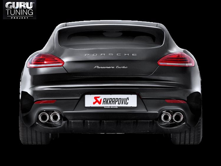 Выхлопная система Akrapovic для Porsche Panamera Turbo (970) 2015