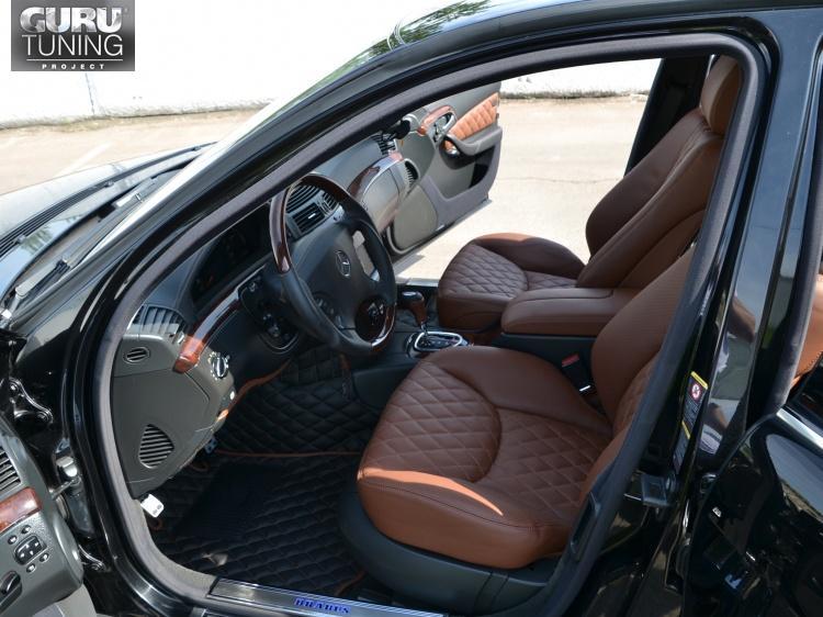 Тюнинг салона Mercedes S-class W221