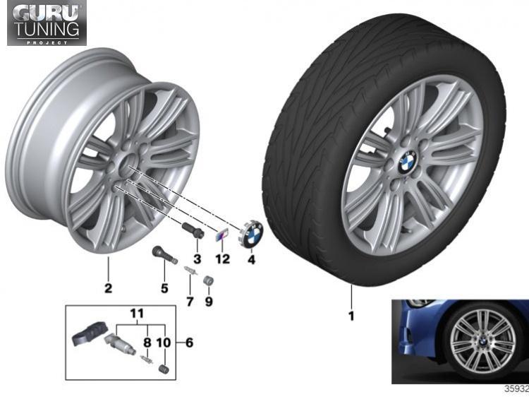 Диски BMW дизайн 383 для BMW 2-series F23