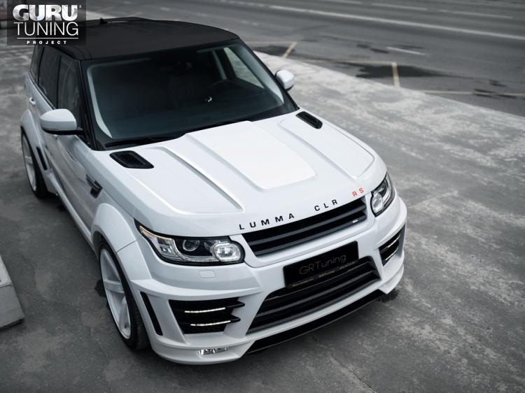 Капот для Range Rover Sport Ver.2