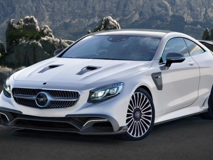 Тюнинг Mercedes S 63 AMG Coupe от Mansory