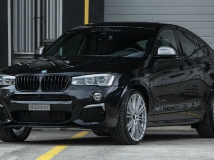 Тюнинг BMW X4 M40i от Dahler Design & Technik