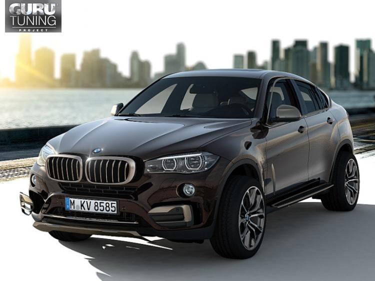Desing Pure Extravagance обвес для BMW X6 (F16/F86)