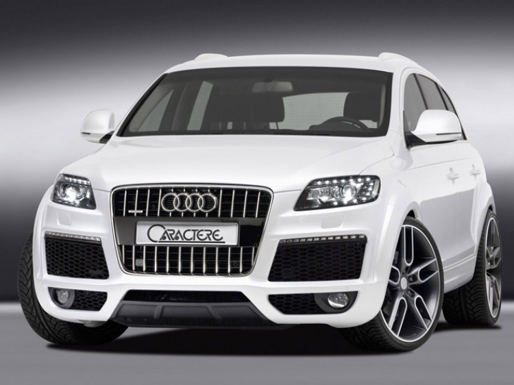 Audi Q7 Facelift от Caractere