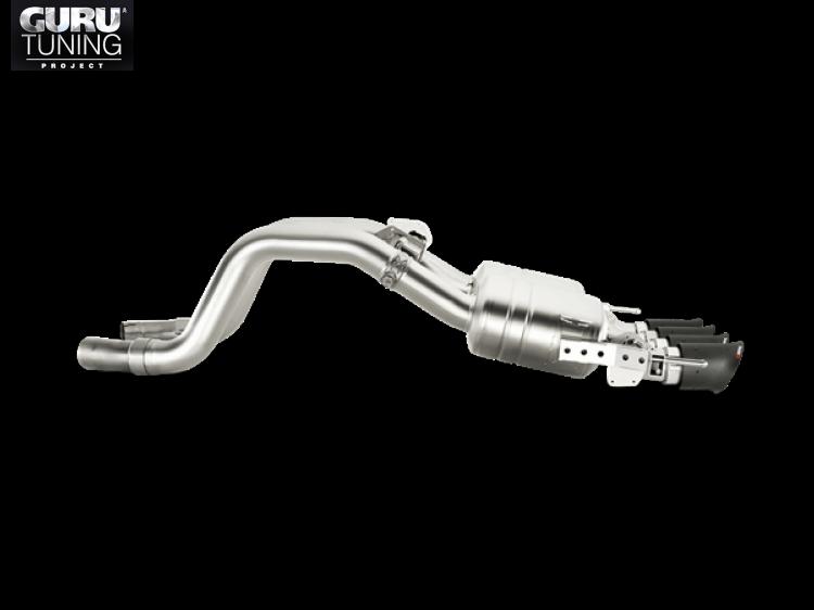 Выхлопная система Akrapovic для Chevrolet Corvette Stingray (C7) 2016