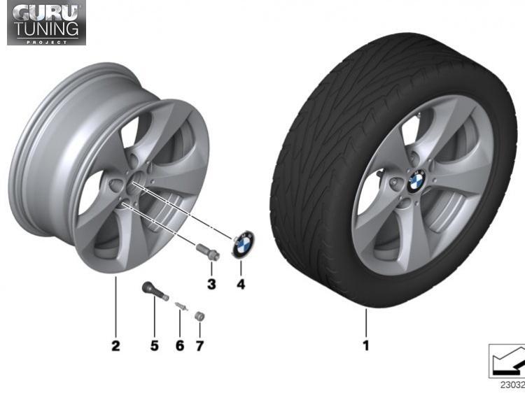 Диски BMW дизайн 306 для BMW X1 E84