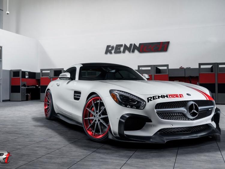 Renntech подготовил тюнинг Mercedes-AMG GT S