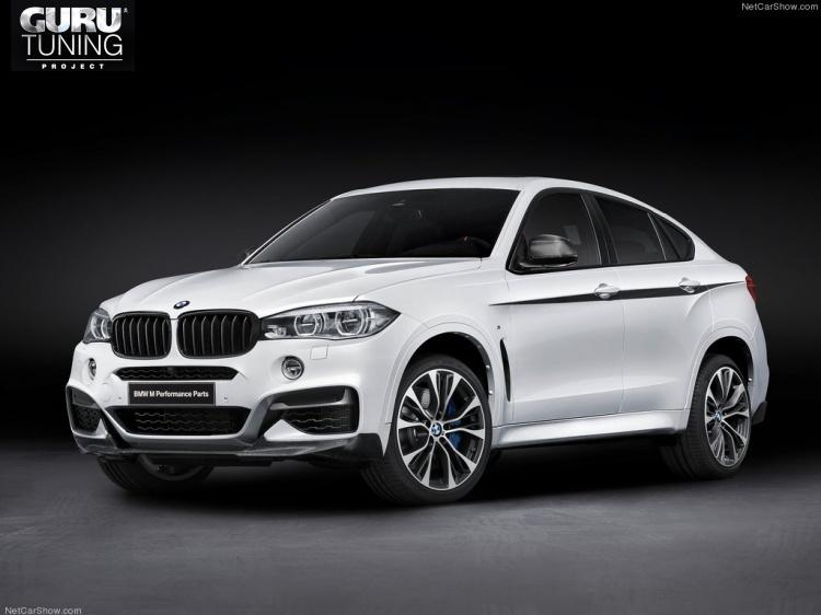 M Performance для BMW X6 F16/F86