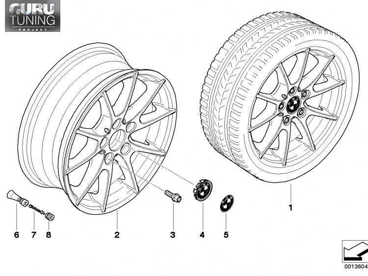 Диски BMW  дизайн 178 для BMW 1-series (E82/E88)