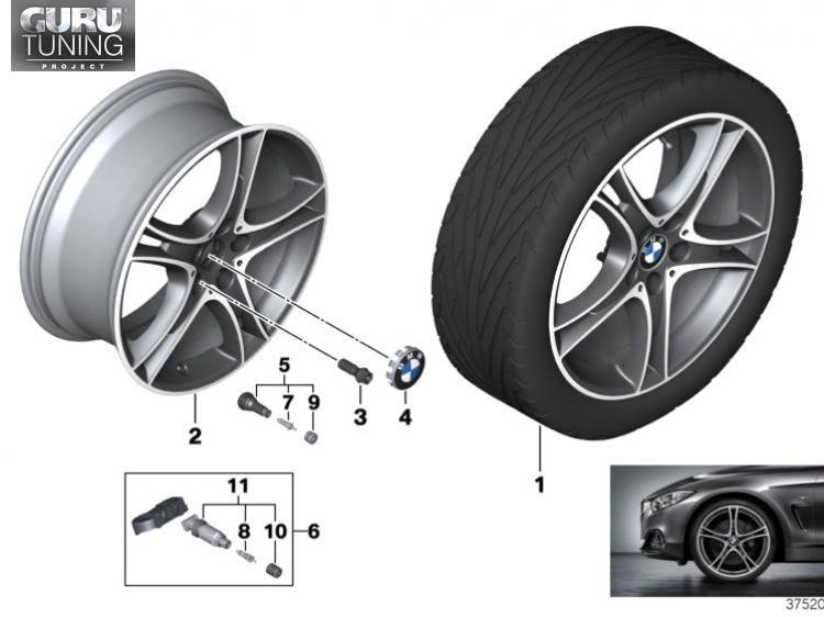 Диски BMW дизайн 361 для BMW 2-series Active Tourer F46