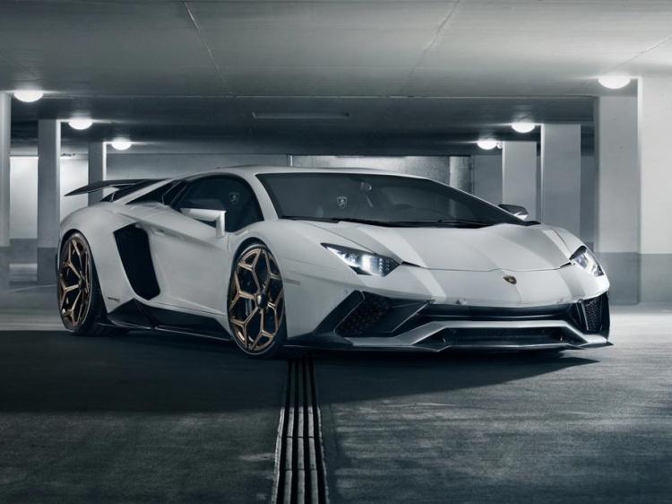 Lamborghini Aventador S с тюнингом от Novitec
