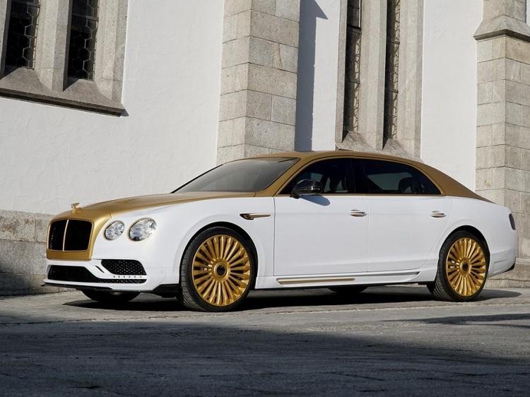 Bentley Flying Spur V8 с тюнингом от Mansory
