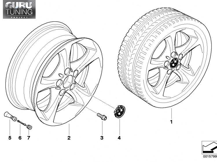 Диски BMW  дизайн 256  для BMW 1-series (E82/E88)